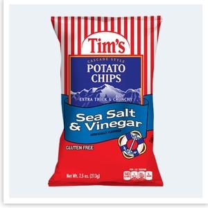 Tim's Cascade Chips Salt & Vinegar